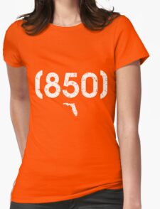 Area Code 850 Florida Womens Fitted T-Shirt
