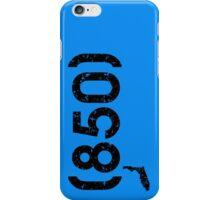 Area Code 850 Florida iPhone Case/Skin