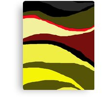 Africa abstract design by Moma Canvas Print