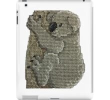 Koala Australia Animals Cross Stitch iPad Case/Skin