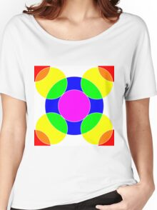 Rainbow Bubbles Women's Relaxed Fit T-Shirt