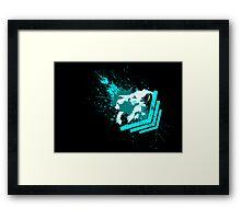 Dreamy Lion Framed Print