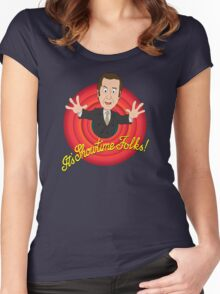 Better Call Saul - It's Showtime Folks ! Women's Fitted Scoop T-Shirt