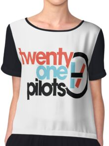 Twenty One Pilots 21 Pilots Logo Chiffon Top