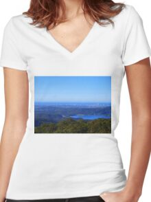 From Beechmont to the Gold Coast . Women's Fitted V-Neck T-Shirt