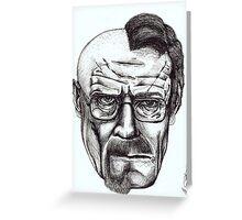 Heisenberg VS Walter White Greeting Card