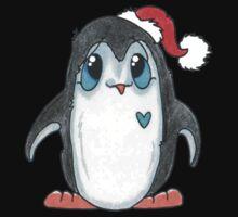 Winter Penguin One Piece - Short Sleeve