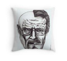 Heisenberg VS Walter White Throw Pillow
