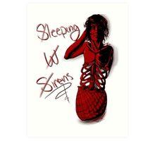 Sleeping with Sirens- Mer Kellin Art Print