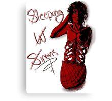 Sleeping with Sirens- Mer Kellin Canvas Print