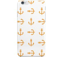 Cute seamless pattern anchor iPhone Case/Skin