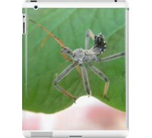 The Assasin Insect iPad Case/Skin