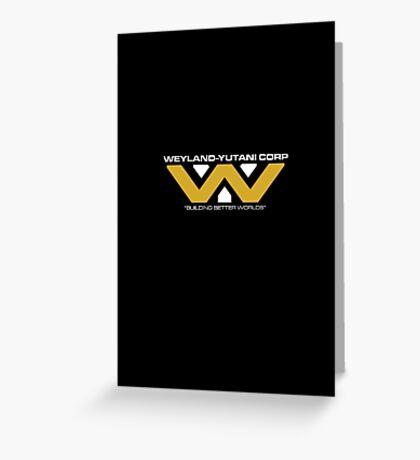 The Weyland-Yutani Corporation Logo Greeting Card