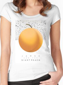 James & The Giant Peach  Women's Fitted Scoop T-Shirt