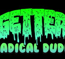 Getter Radical Sticker