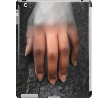 A Woman's Hand on a Rock iPad Case/Skin