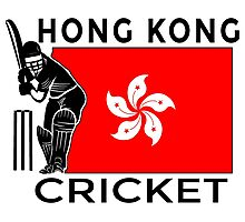Hong Kong Cricket Photographic Print