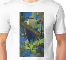 Blue Bellied Roller Unisex T-Shirt