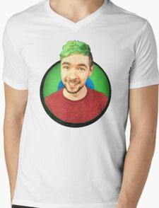 Jacksepticeye in eye Mens V-Neck T-Shirt
