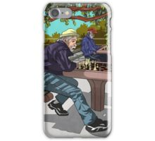 Central Park Chess iPhone Case/Skin