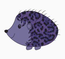 Faux Fur Fabric Purple Black Kids Tee