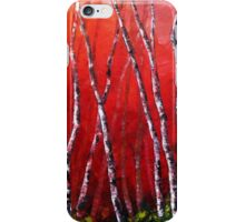 Reverie by Lisa Elley. Palette knife painting in oil iPhone Case/Skin
