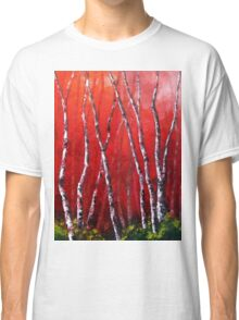 Reverie by Lisa Elley. Palette knife painting in oil Classic T-Shirt