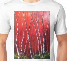 Reverie by Lisa Elley. Palette knife painting in oil Unisex T-Shirt