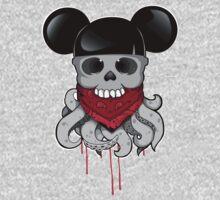 Skull OCTOMOUSE Kids Tee