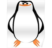 Large Penguin Design Poster