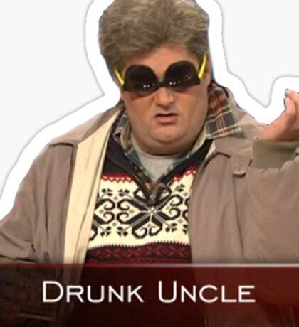 Drunk Uncle Sticker