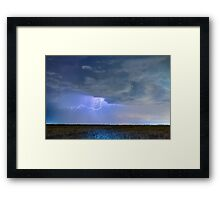 Reaching Out To Country Wheat Fields Framed Print