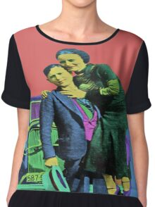 Bonnie and Clyde 2 Chiffon Top