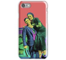 Bonnie and Clyde 2 iPhone Case/Skin