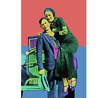 Bonnie and Clyde 2 Photographic Print