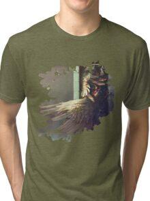 Birdshower Tri-blend T-Shirt