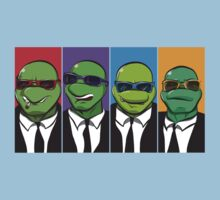 Reservoir Turtles Kids Clothes