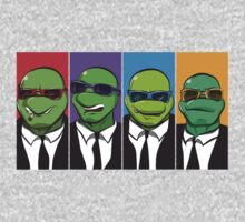 Reservoir Turtles Kids Clothes