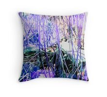 Psychedelic Bullfrog Throw Pillow