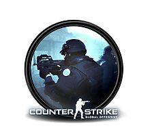 CS:GO CSGO Counter Strike Global Offensive Counter Terrorist CT Photographic Print