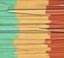 Shreds of Color Sticker