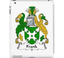 Frank Coat of Arms / Frank Family Crest iPad Case/Skin