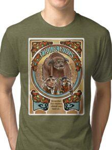 Labyrinth Art Nouveau Tribute Tri-blend T-Shirt