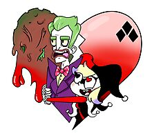 Joker and Harley Photographic Print