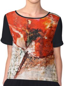The Poppy Journals...Words in Music Chiffon Top