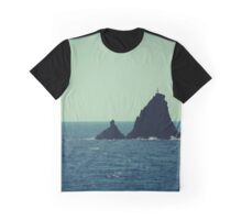 Rocks, Santorini Graphic T-Shirt