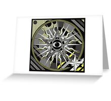 EYE OF THE GOLDEN ONE 1 Greeting Card