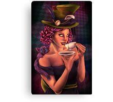 Mad for Tea Canvas Print