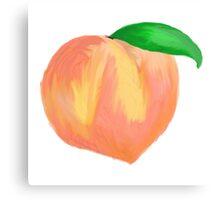 large peach  Canvas Print