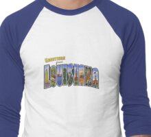 Greetings from Louisiana Men's Baseball ¾ T-Shirt